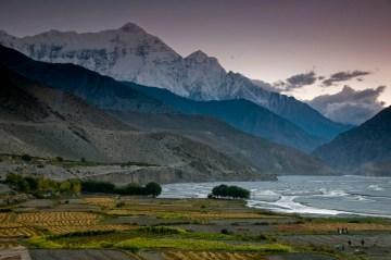Malownicze okolice wioski Kagbeni na północy Nepalu