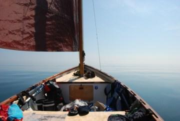 Dinghy Baltic Passage podczas swojej wyprawy (fot. Dinghy Baltic Passage)