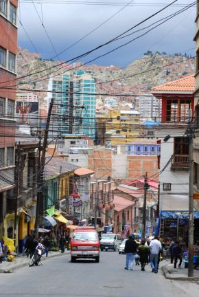 La Paz - Calle Santa Cruz (fot. Filip Choma).