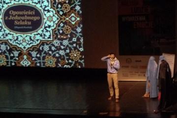 Zbyszek Pawlak na Festiwalu Podrózników Trzy Zywioły
