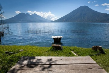Jezioro Atitlan, Gwatemala