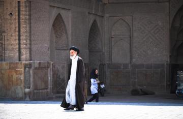 Irański mułła - zdjęcie z podróży do Esfahanu