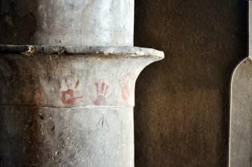 Zdjęcia z podróży do Iranu. Wnętrze meczetu