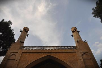 Widok minaretów towarzyszył nam przez cała podróż po Iranie