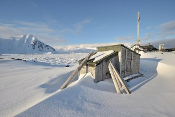Jeden z wolnostojących husów na Spitsbergenie. (Fot. Michał Jastrzębski)