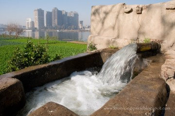 Pompa wodna nad Nilem