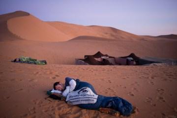 Poranek na Saharze