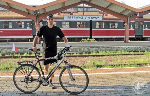 rower na peronie