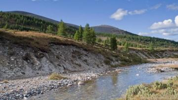Krajobrazy Mongolii to nie tylko pustynia