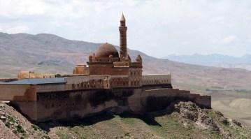 Dogubayazit w Turcji. Pałac księcia Ishaka