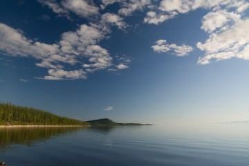 Jednoosobowa wioska nad jeziorem Bajkał