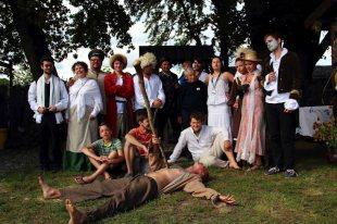 Gra wiejska w trakcie Folkowiska w Gorajcu