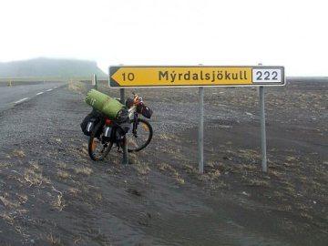 Rowerem przez Islandię