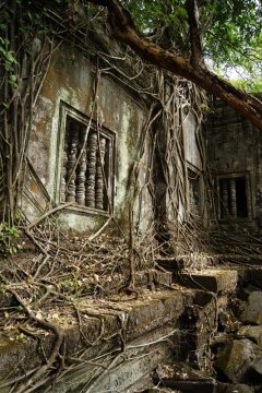 Kompleks Beng Melea w Kambodży