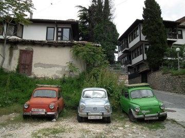 raj dla fanów starych samochodów