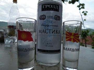 Macedoński przysmak wysokoprocentowy