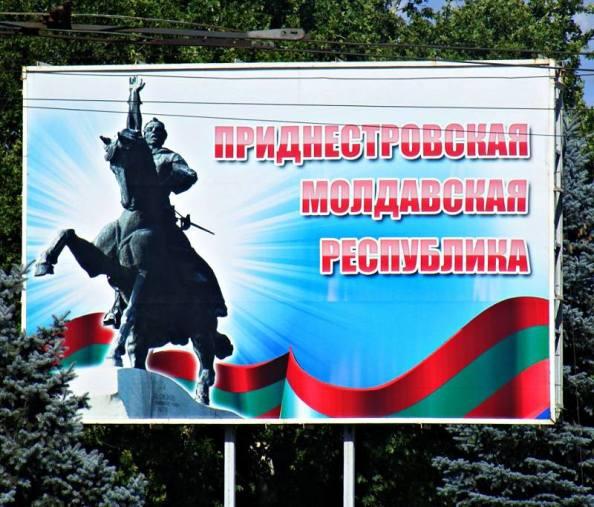 Billboard - Naddniestrzańska Mołdawska Republika