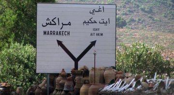 W strone Marrakeszu