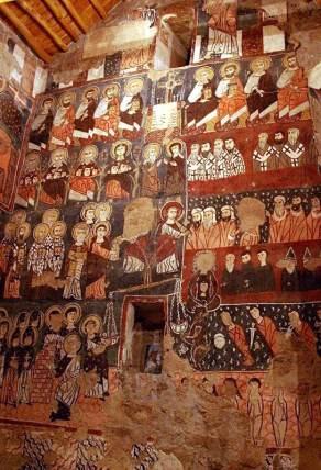 Freski w klasztorze Deir Mar Musa