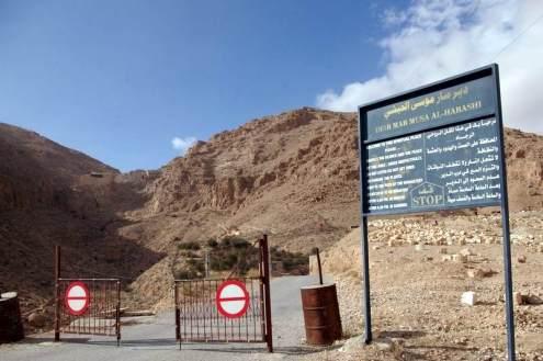 Braka do syryjskiego klasztoru Deir Mar Musa