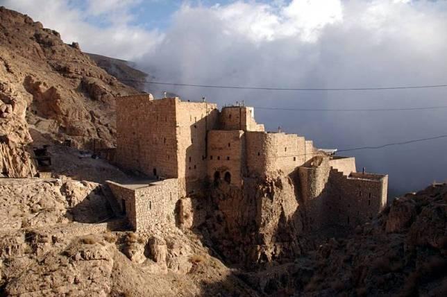 Klasztor Deir Mar Musa w Syrii