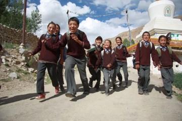 Fot. Dominika Lis. Pierwszy dzień zajęć w szkole od czasu powodzi.