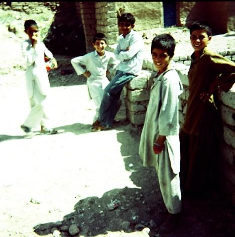 Młodzi Afgańczycy z Heratu