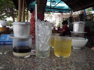 Kawa parzona w Wietnamie