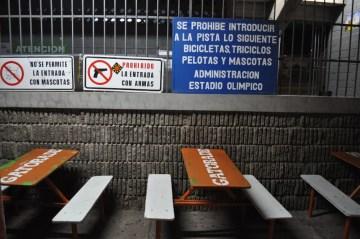 zakaz na stadionie