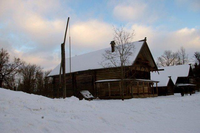 Skansen w Rosji