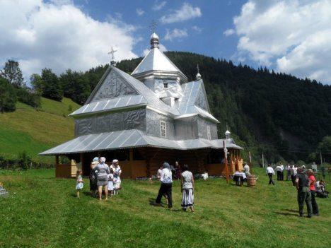 Ukraińska cerkiew na Huculszczyźnie