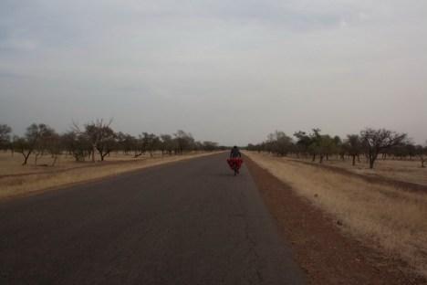Rowerowa podróż przez Burkina Faso