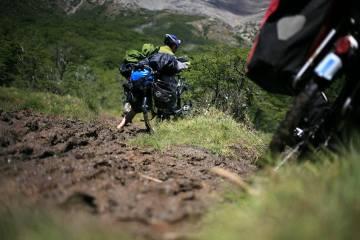 Górski rower w Chile