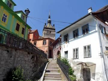 Sigishoara - jedno z najpiękniejszych miast Transylwanii