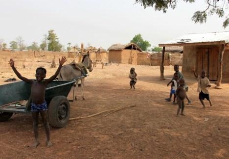 Mali mieszkańcy Ghany