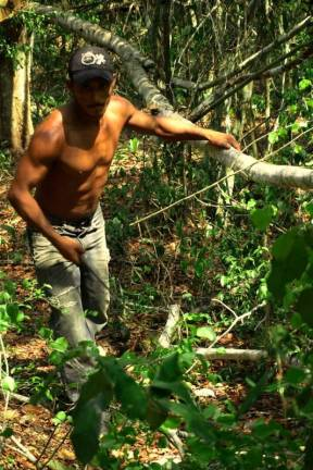 Przeprawa przez dżunglę