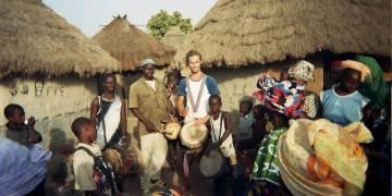 Koncert zespołu Foliba w Afryce