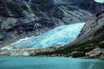 Norweskie lodowce - foto