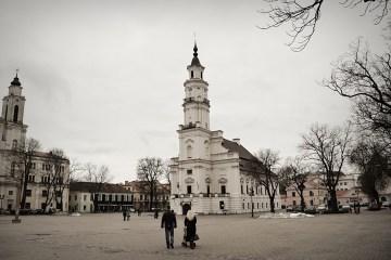 Ratusz w Kownie - foto