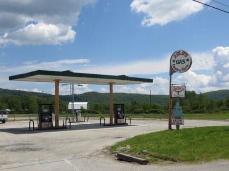 Stacja benzynowa w Stanach Zjednoczonych