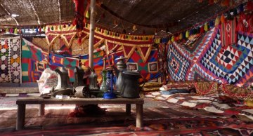 Nocleg u Beduinów, Jordania