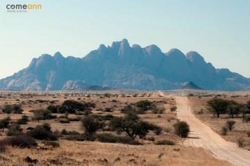 Afrykańskie góry - podróż przez Namibię