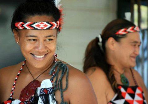 Maorysi zamieszkujący Nową Zelandię - foto