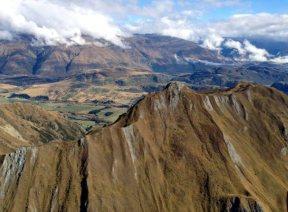 Krajobraz górski Nowej Zelandii