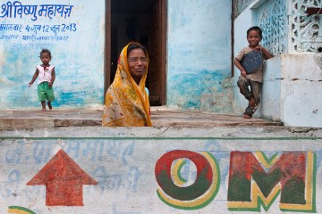 Zdjęcia z Indii - dzieci się bawią