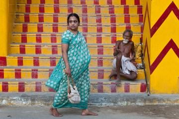 Żebracy w Indiach - foto, zdjęcia z podróży