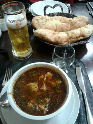 Gruzińska zupa - charczo