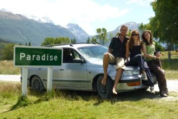 Kalinka, nasz pierwszy samochód w życiu, zawiozła nas do raju! (Fot. Ania Bunikowska i Tomasz Marchewka)