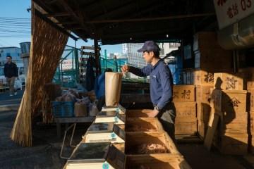 Na targu Tsukiji - galeria zdjęć