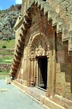 Wejście do ormiańskiegio monastyru